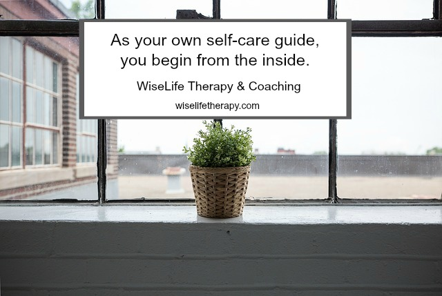 Santa Rosa psychotherapist Patty Bechtold writes about how to be your own self-care guide at wiselifetherapy.com