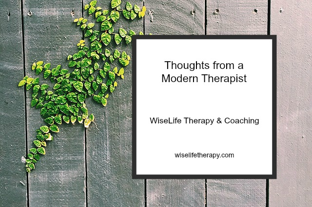 Santa Rosa therapist Patty Bechtold shares thoughts from a modern therapist at wiselifetherapy.com