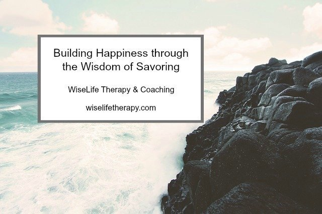 Santa Rosa therapist and life coach Patty Bechtold explores wisdom of savoring at wiselifetherapy.com