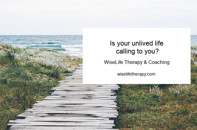 Patty Bechtold, life coach for women, blogs about your unlived life at wiselifetherapy.com