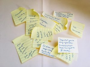 Make life in transition easier with these journal prompts. Blog post by Patty Bechtold life coach for women at wiselifetherapy.com