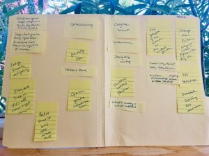 Make life in transition easier with these journal prompts. Blog post by Patty Bechtold therapist Santa Rosa at wiselifetherapy.com